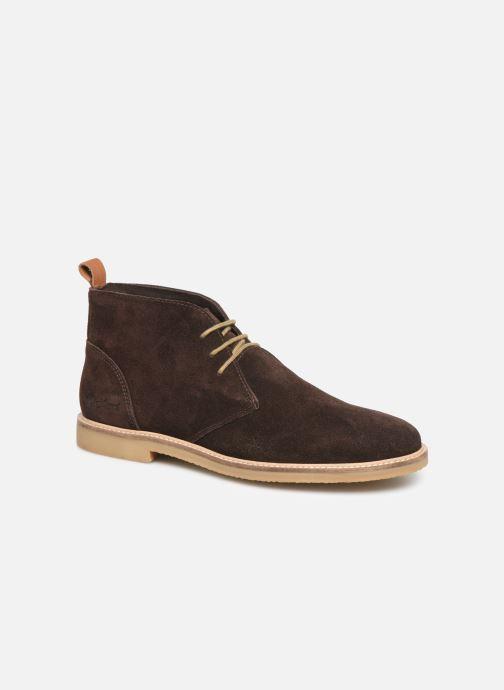 Ankelstøvler Kickers Tyl Brun detaljeret billede af skoene