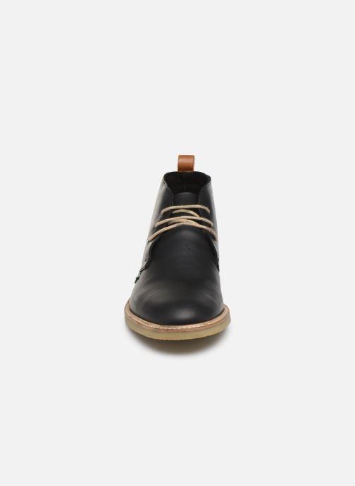 Bottines et boots Kickers Tyl Noir vue portées chaussures