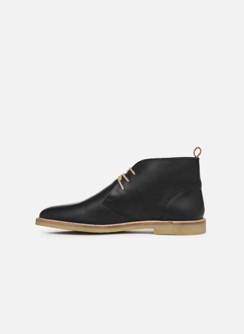 Boots en enkellaarsjes Kickers Tyl Zwart voorkant