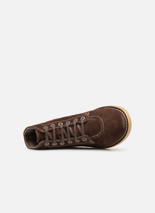 Bottines et boots Kickers Orilegend Marron vue gauche