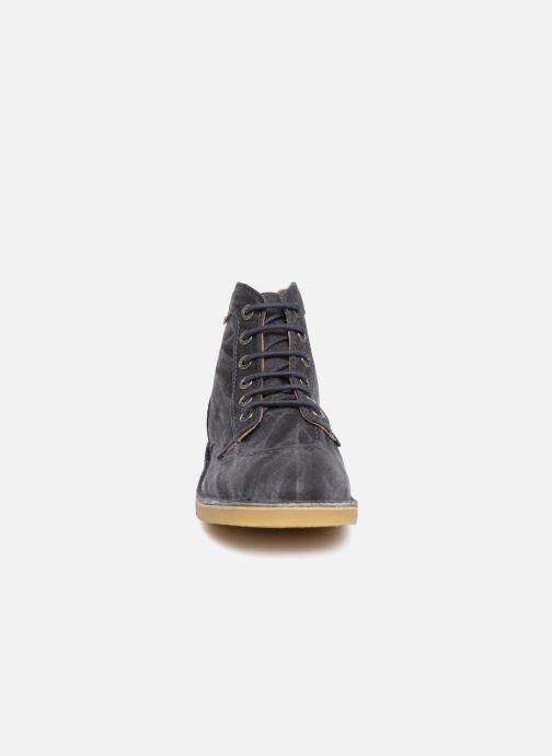 Bottines et boots Kickers Orilegend Bleu vue portées chaussures