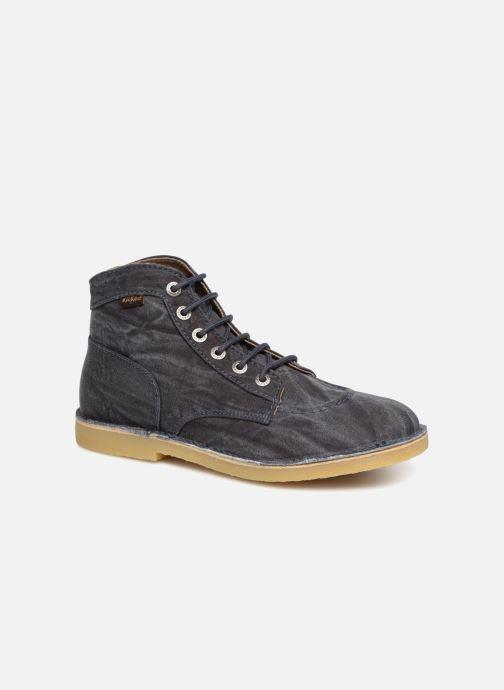 Bottines et boots Kickers Orilegend Bleu vue détail/paire