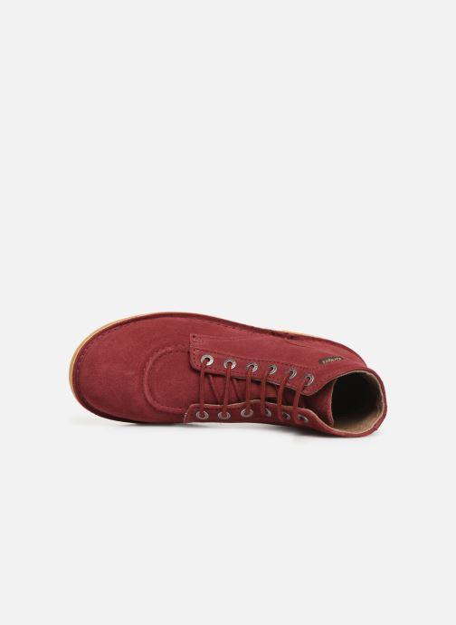 Bottines et boots Kickers Orilegend Bordeaux vue gauche