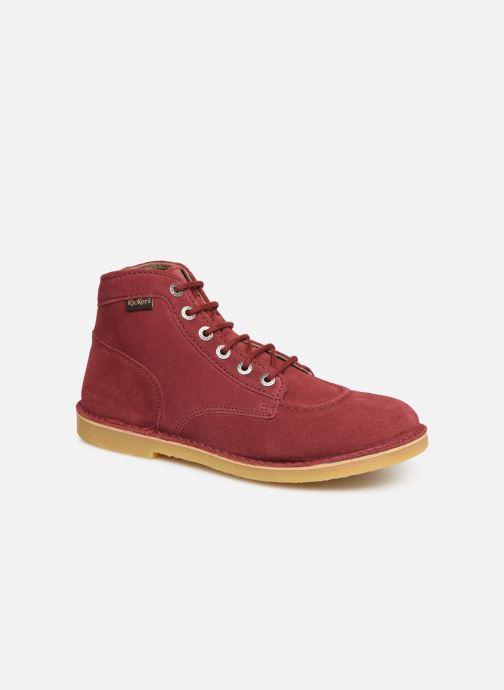 Bottines et boots Kickers Orilegend Bordeaux vue détail/paire