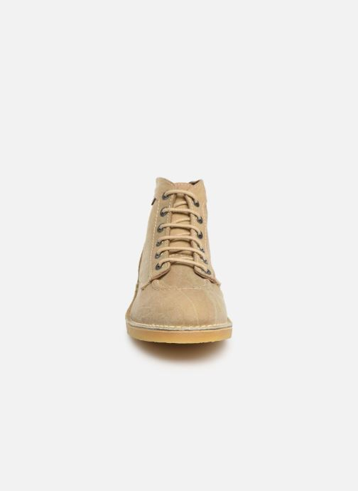 Bottines et boots Kickers Orilegend Beige vue portées chaussures