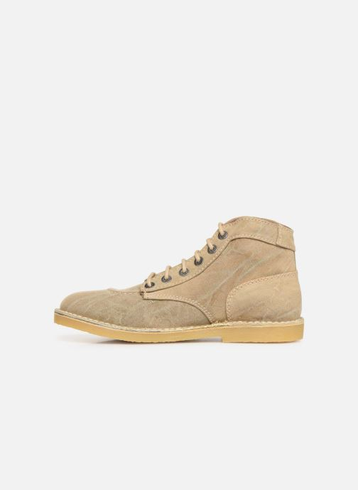 Bottines et boots Kickers Orilegend Beige vue face