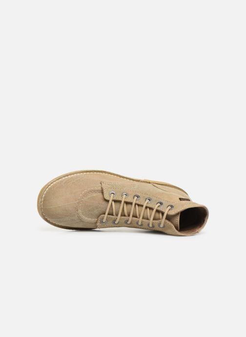 Bottines et boots Kickers Orilegend Beige vue gauche