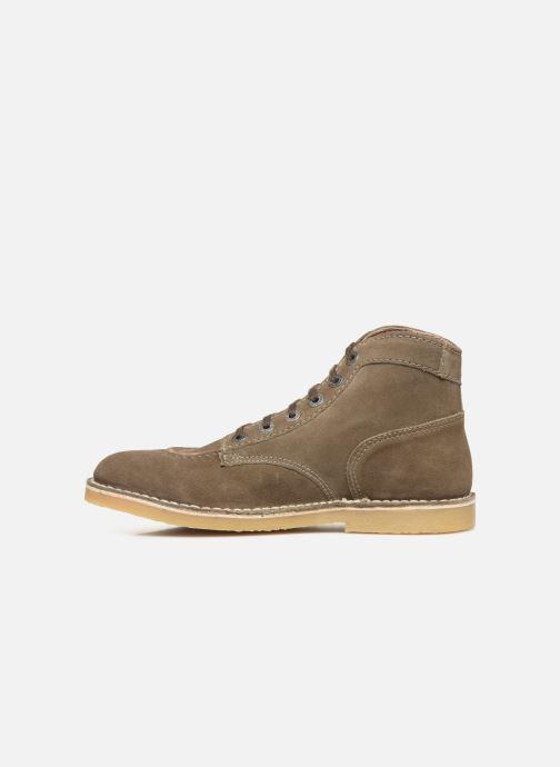 Bottines et boots Kickers Orilegend Vert vue face