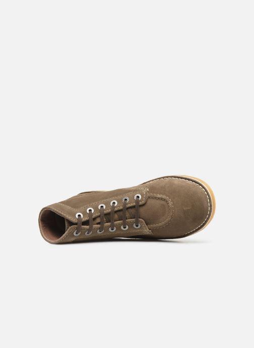 Bottines et boots Kickers Orilegend Vert vue gauche