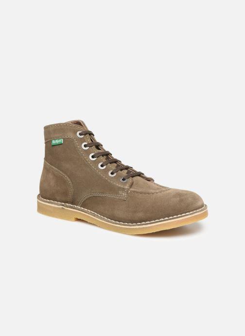 Bottines et boots Kickers Orilegend Vert vue détail/paire