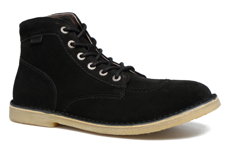 Ankelstøvler Kickers Orilegend Sort detaljeret billede af skoene