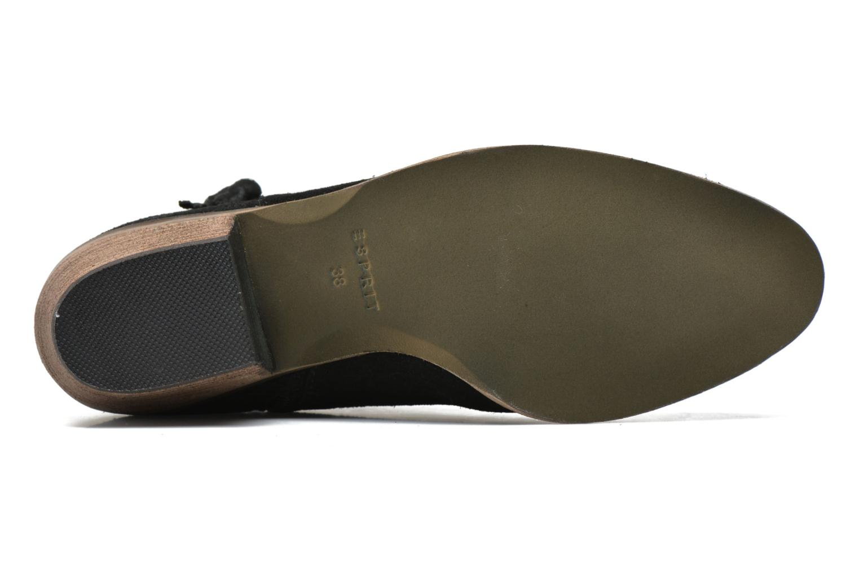 Bottines et boots Esprit Bake Tossel Noir vue haut