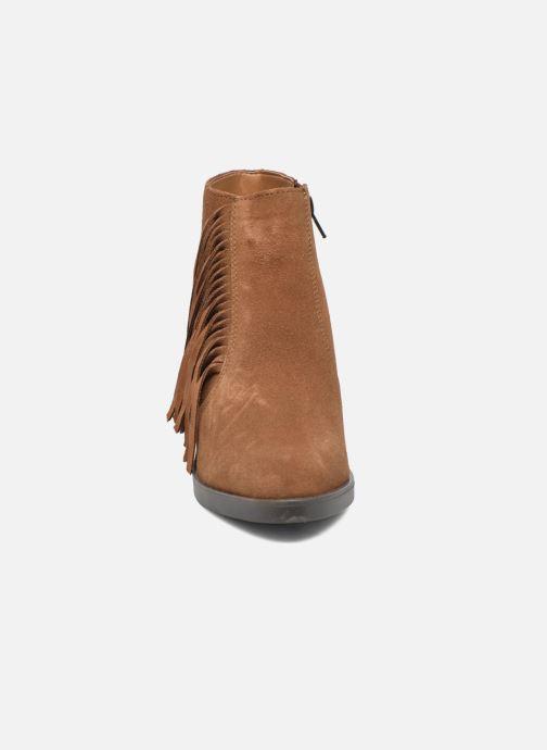 Bottines et boots Esprit Shane Fringes Marron vue portées chaussures