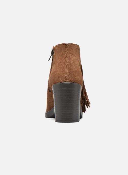 Bottines et boots Esprit Shane Fringes Marron vue droite