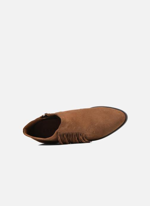 Bottines et boots Esprit Shane Fringes Marron vue gauche