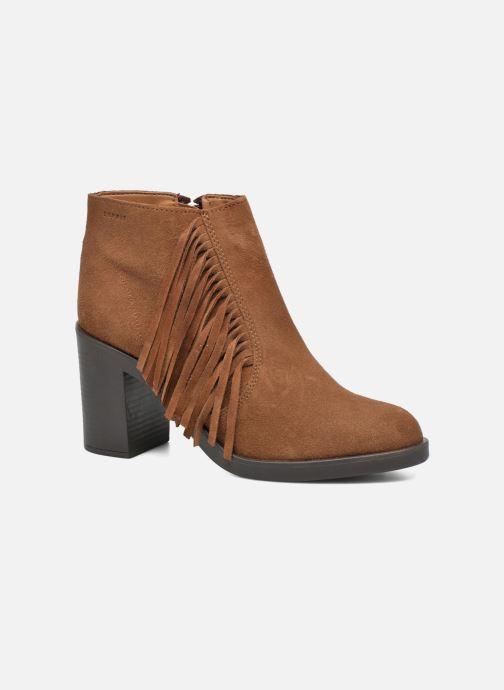 Bottines et boots Esprit Shane Fringes Marron vue détail/paire