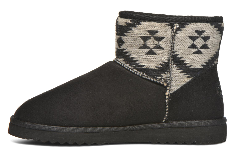 Boots en enkellaarsjes Esprit Uma Ethno Zwart voorkant