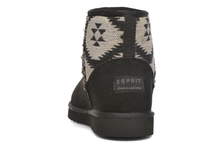 Boots en enkellaarsjes Esprit Uma Ethno Zwart rechts