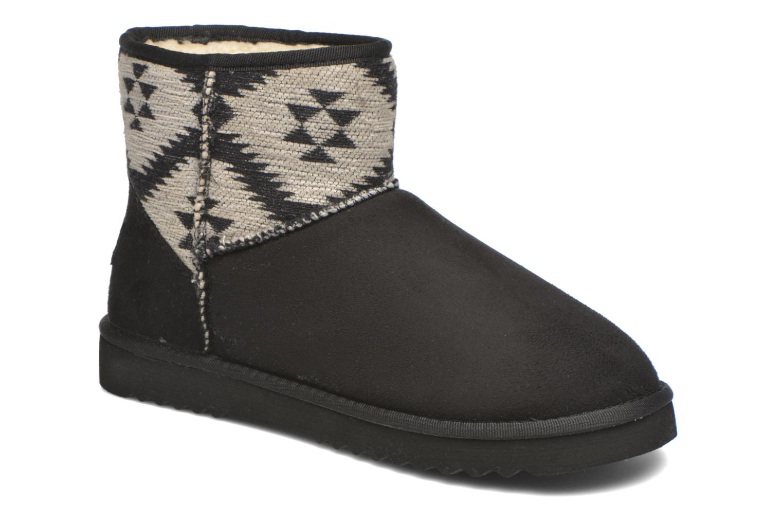 Boots en enkellaarsjes Esprit Uma Ethno Zwart detail