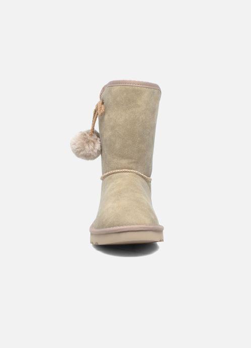 Stiefeletten & Boots Esprit Uma Boot grau schuhe getragen