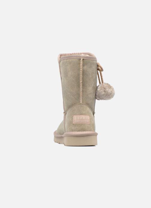 Stiefeletten & Boots Esprit Uma Boot grau ansicht von rechts
