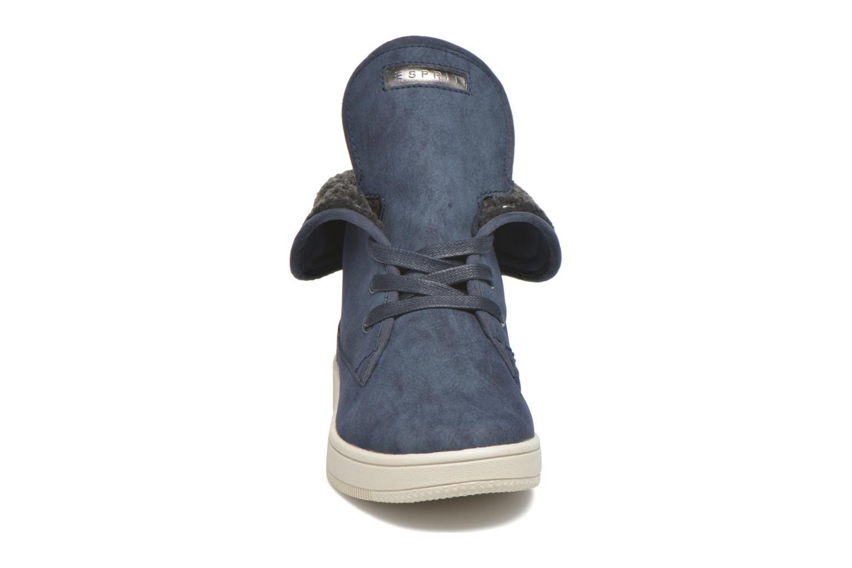 Baskets Esprit Desire Bootie Bleu vue portées chaussures