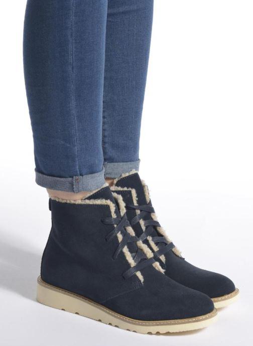 Bottines et boots Esprit Kajal Lu Bootie Bleu vue bas / vue portée sac