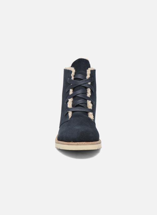 Bottines et boots Esprit Kajal Lu Bootie Bleu vue portées chaussures