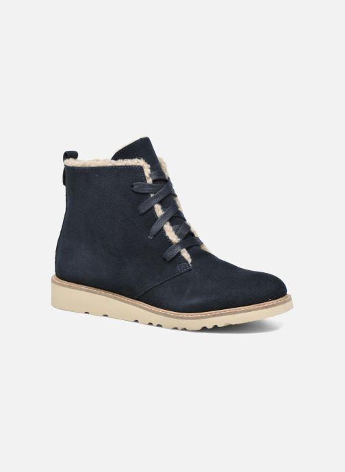 Bottines et boots Esprit Kajal Lu Bootie Bleu vue détail/paire