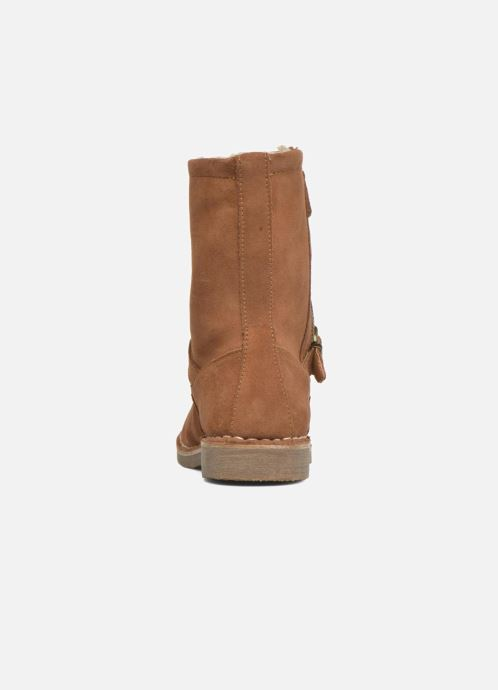 Bottines et boots Esprit Koa Buckle Marron vue droite