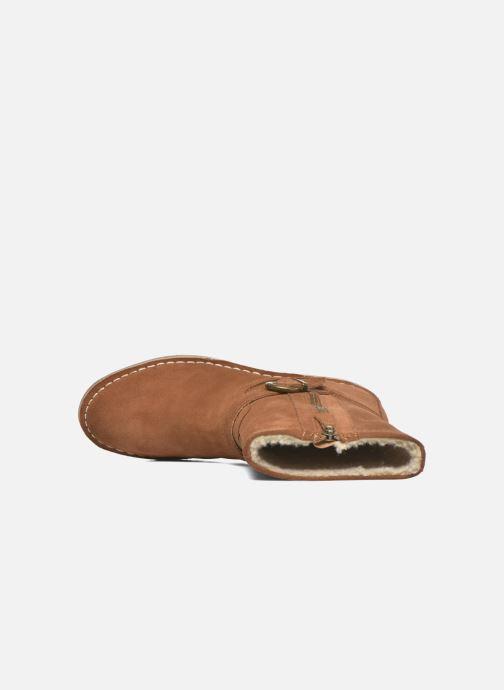 Bottines et boots Esprit Koa Buckle Marron vue gauche