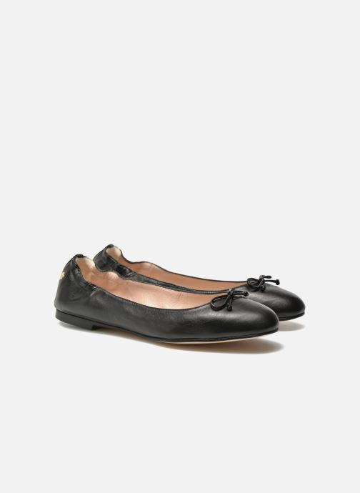 Ballet pumps L.K. Bennett Thea Black 3/4 view