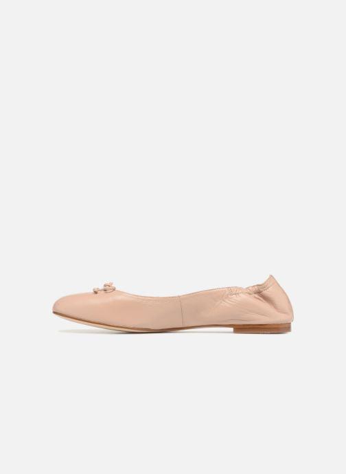 Ballerinas L.K. Bennett Thea beige ansicht von vorne
