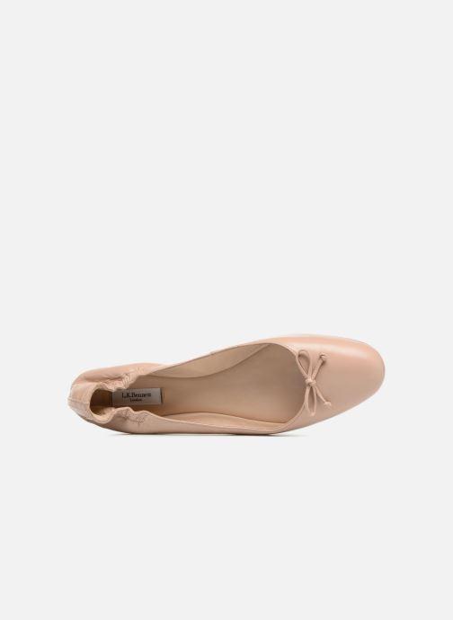 Ballerinas L.K. Bennett Thea beige ansicht von links