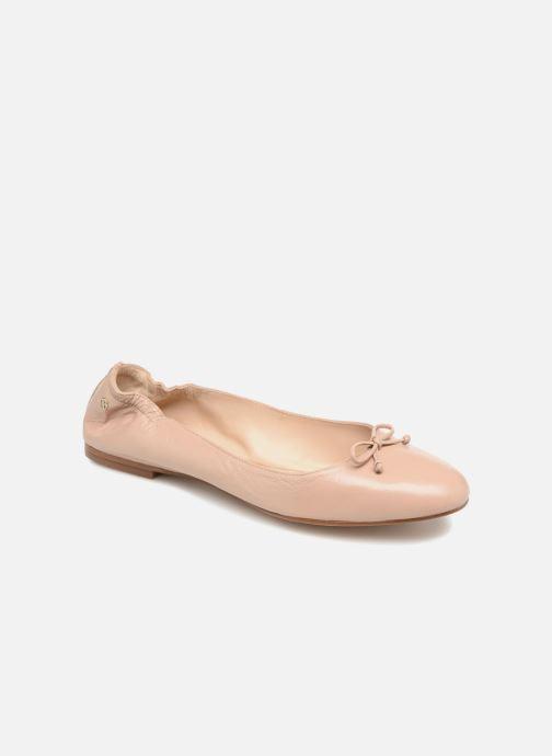 Ballet pumps L.K. Bennett Thea Beige detailed view/ Pair view
