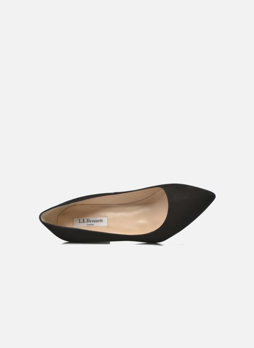 Zapatos de tacón L.K. Bennett Tess Negro vista lateral izquierda