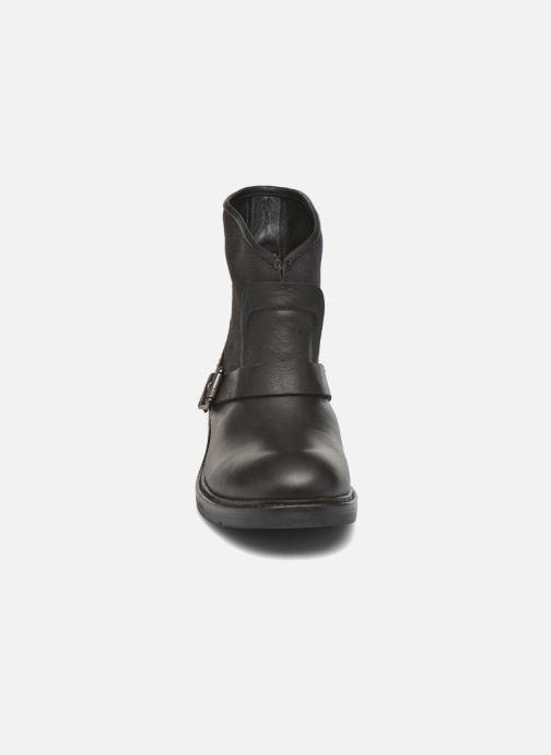 Bottines et boots G-Star Leon boot W Noir vue portées chaussures