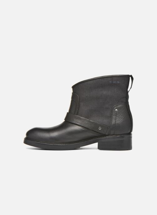 Bottines et boots G-Star Leon boot W Noir vue face