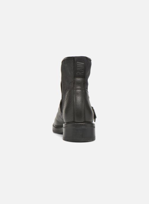Bottines et boots G-Star Leon boot W Noir vue droite