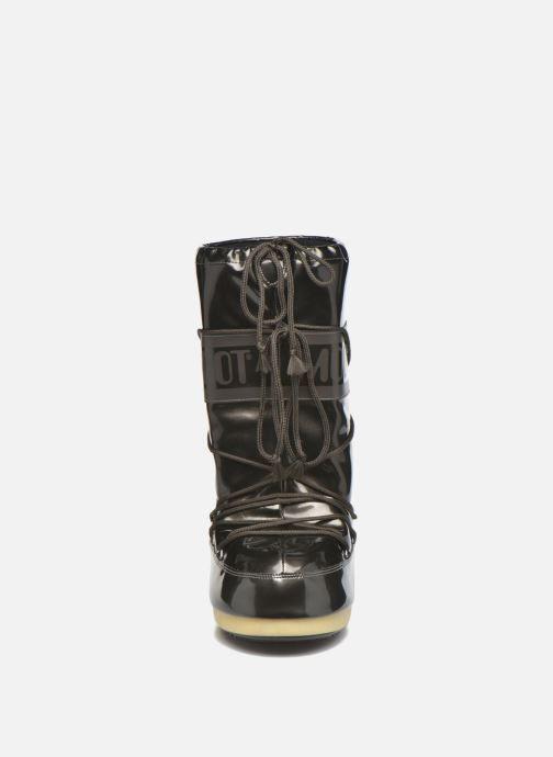 Chaussures de sport Moon Boot Vinile Met. Noir vue portées chaussures
