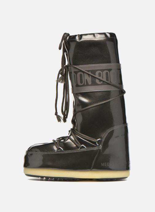 Chaussures de sport Moon Boot Vinile Met. Noir vue face