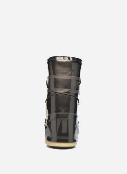 Sport shoes Moon Boot Vinile Met. Black view from the right