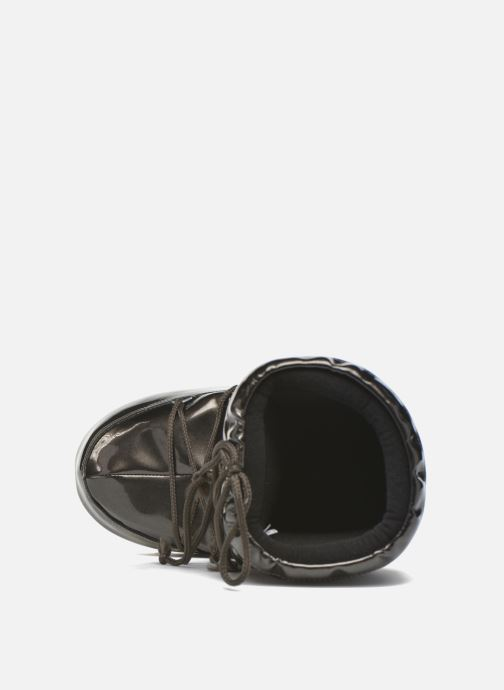 Sport shoes Moon Boot Vinile Met. Black view from the left