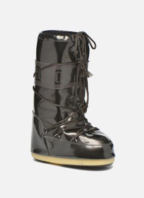 Sport shoes Moon Boot Vinile Met. Black detailed view/ Pair view