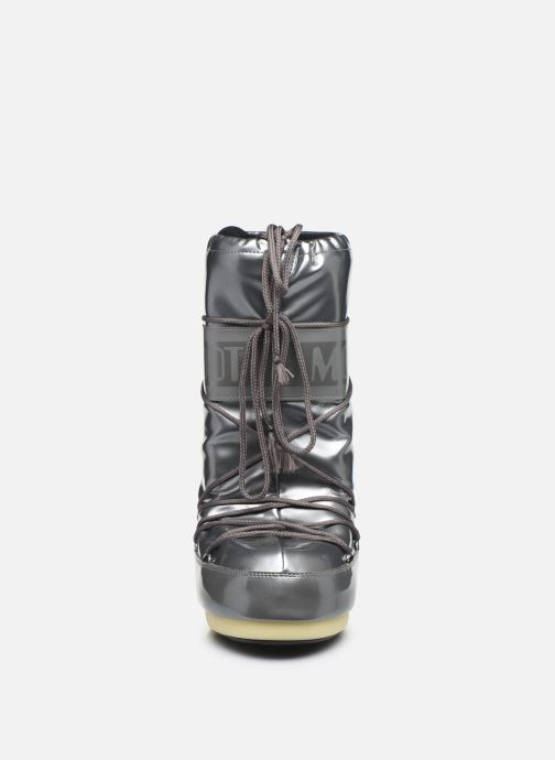 Chaussures de sport Moon Boot Vinile Met. Argent vue portées chaussures