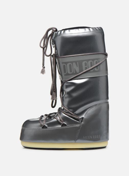 Scarpe sportive Moon Boot Vinile Met. Argento immagine frontale