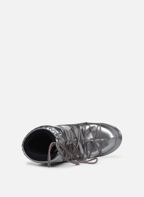 Scarpe sportive Moon Boot Vinile Met. Argento immagine sinistra