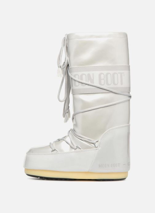 Sport shoes Moon Boot Vinile Met. White front view
