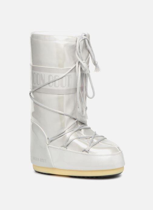 Chaussures de sport Moon Boot Vinile Met. Blanc vue détail/paire