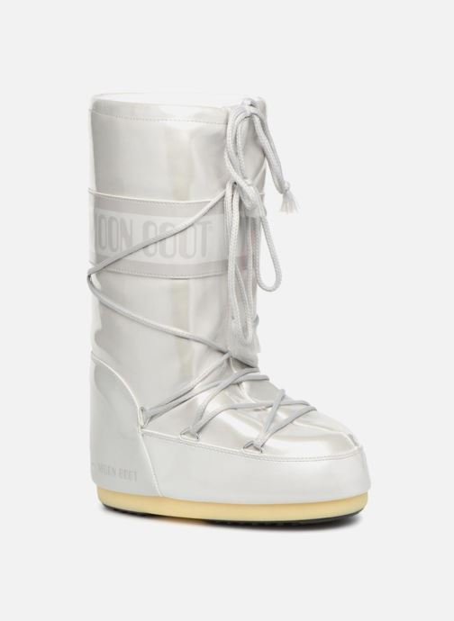 Sport shoes Moon Boot Vinile Met. White detailed view/ Pair view